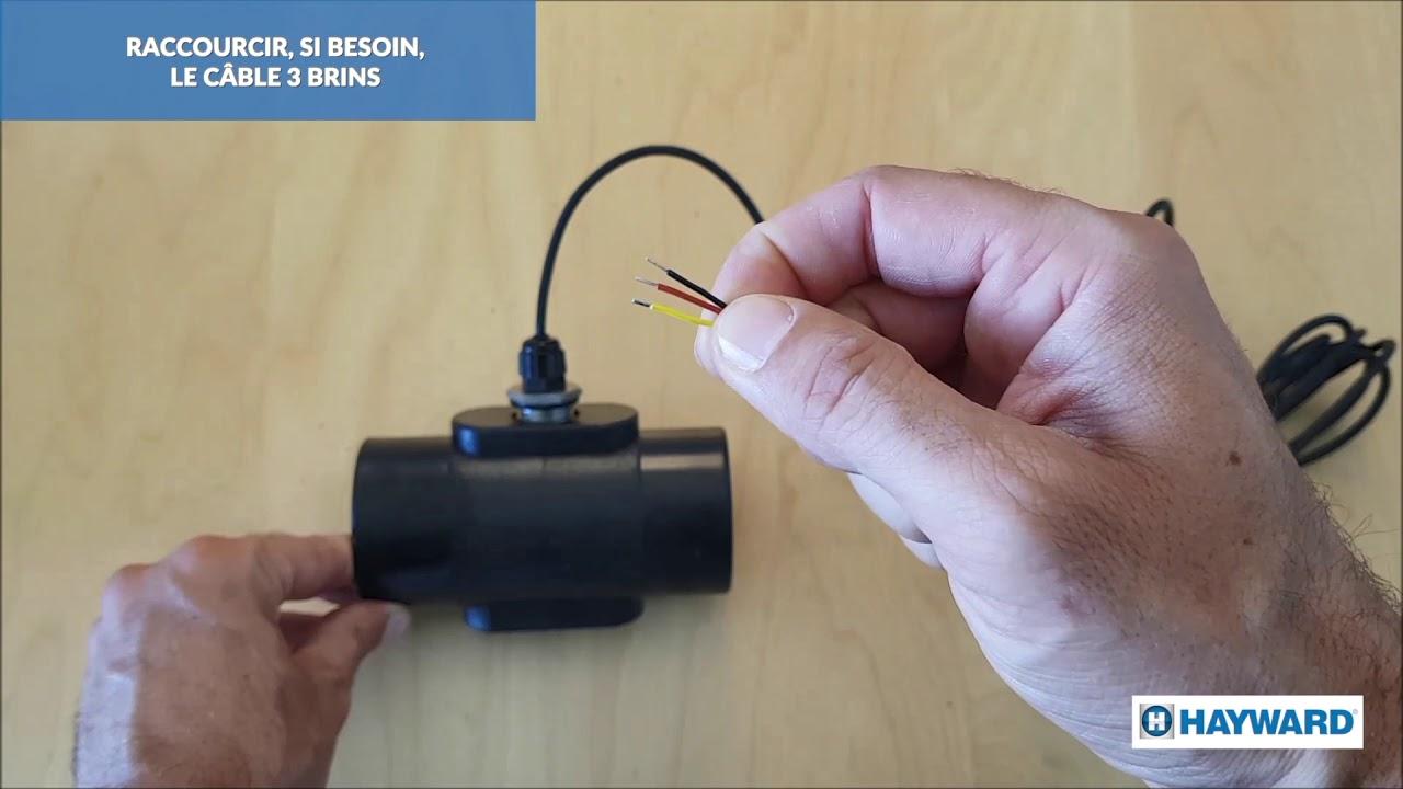 Instalación de la sonda de temperature del AquaRite® +